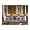 Party Decorations: Rainbow Fabric Bunting