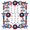 Patriotic Reflections Decorating Kit - 28 Pcs