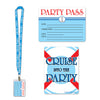Nautical Party Decorations: Cruise Ship Party Pass