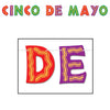 Glittered Cinco De Mayo Streamer
