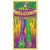 Mardi Gras Door Cover