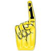 Inflatable #1 Hand, yellow
