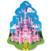 Princess Castle Wall Plaque - Princess Party Theme