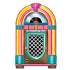Rock and Roll Party Supplies - Jukebox Cutout