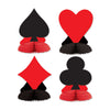 Casino Party Supplies: Card ''suit'' Playmates