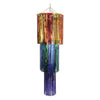 3-Tier Shimmering Chandelier, multi-color