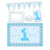 Beistle 1st Birthday High Chair Decorating Kit (6 packs) - 1st Birthday, Birthday Party Decorations