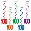 Birthday Party Supplies - '100' Whirls