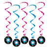 Rock and Roll Party Supplies - Rock & Roll Record Whirls