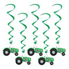 Farm Themed Party Supplies - Tractor Whirls