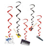 Rock and Roll Party Supplies - Band Whirls