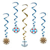 Nautical Party Decorations: Cruise Ship Whirls
