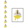 Graduation Party Supplies: Grad Cap Firework Stringer gold