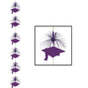Grad Cap Firework Stringer purple