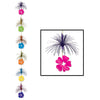 Luau Party Decorations: Hibiscus Firework Stringer