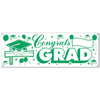 Congrats Grad Sign Banner - Graduation Signs and Banners