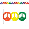 Peace Sign Garland - 70's Theme