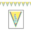 Baby Shower Decorations - Showers Of Joy Pennant Banner