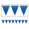 Bandana Pennant Banner, party supplies, decorations, The Beistle Company, Western, Bulk, Western Party Theme, Western Party Decorations