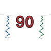 90'' Glittered Streamer - Birthday Party Streamers