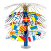 Nautical Flag Cascade Centerpiece - Nautical Party Theme