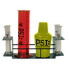 PSI Drink Set Includes: Wire Rack, 23-Oz Graduated