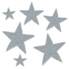 Silver Glittered Foil Star Cutouts, party supplies, decorations, The Beistle Company, Awards Night, Bulk, Awards Night Party Theme