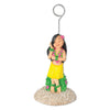 Hula Girl Photo/Balloon Holder
