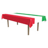 International Tablecover - red, white, green