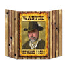 Western Party Supplies - Wanted Poster Photo Prop