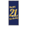 Beistle 21st Birthday Door Cover (Pack of 12) - 21st Birthday, Birthday Party Decorations