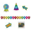 Birthday Desktop Party Pack Kit (Pack of 36)