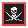 Birthday Party Supplies - Pirate Luncheon Napkins,