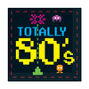 Rock & Roll Party Supplies: 80's Luncheon Napkins