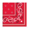 Bandana Luncheon Napkins - Western Party Decorations