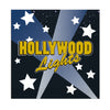 Hollywood Lights Beverage Napkins -