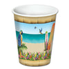 Luau Party Supplies - Paradise Beverage Cups