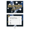 Hollywood Lights Invitations - envelopes included