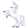Beistle Jointed Unicorn (Pack of 12) - Fantasy Party Theme