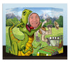 Beistle Dinosaur Photo Prop (Pack of 6) - Dinosaurs Party Theme