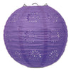 Lace Paper Lanterns Purple, 8 inch, , party supplies, decorations, The Beistle Company, General Occasion, Bulk, General Party Decorations, Paper Lanterns