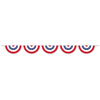 Patriotic Bunting Banner, party supplies, decorations, The Beistle Company, Patriotic, Bulk, Holiday Party Supplies, 4th of July Political and Patriotic, 4th of July Party Decorations, 4th of July Signs/Banners