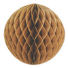 12 inch Kraft Paper Ball, party supplies, decorations, The Beistle Company, Wedding, Bulk, Wedding & Anniversary, Wedding and Anniversary Decorations, Miscellaneous Wedding and Anniversary Party Supplies