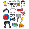 Hero Photo Fun Signs, party supplies, decorations, The Beistle Company, Heroes, Bulk, Birthday Party Supplies, Hero Party Theme