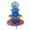 Hero Cupcake Stand, party supplies, decorations, The Beistle Company, Heroes, Bulk, Birthday Party Supplies, Hero Party Theme