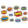 Hero Action Sign Cutouts, party supplies, decorations, The Beistle Company, Heroes, Bulk, Birthday Party Supplies, Hero Party Theme