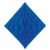 Tissue Diamond Blue, party supplies, decorations, The Beistle Company, General Occasion, Bulk, General Party Decorations, Tissue Diamond