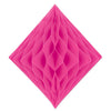 Tissue Diamond Cerise, party supplies, decorations, The Beistle Company, General Occasion, Bulk, General Party Decorations, Tissue Diamond