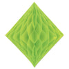 Tissue Diamond Light Green, party supplies, decorations, The Beistle Company, General Occasion, Bulk, General Party Decorations, Tissue Diamond