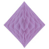 Tissue Diamond Lavender, party supplies, decorations, The Beistle Company, General Occasion, Bulk, General Party Decorations, Tissue Diamond